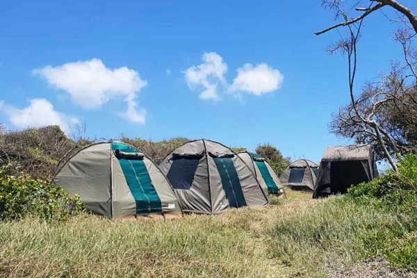 Camping trips in Mozambique