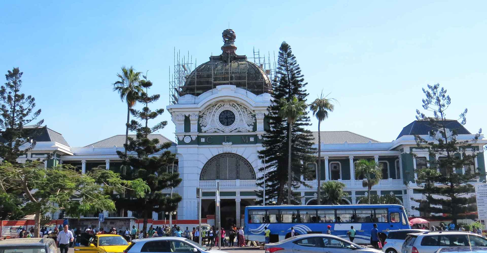 Maputo train station by Mabeco tours on a half day city tour