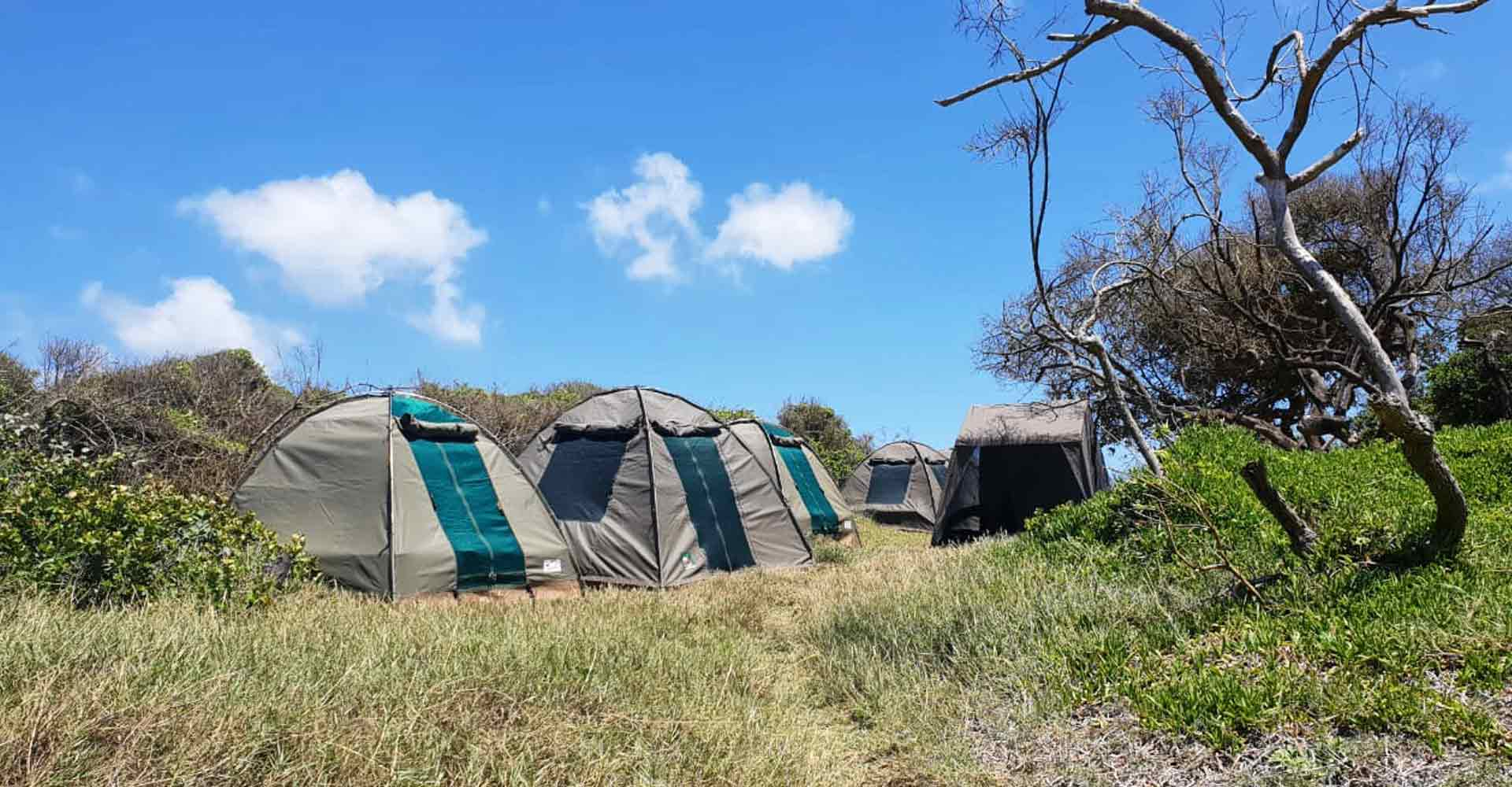 Camping at Maputo special reserve with Mabeco tours